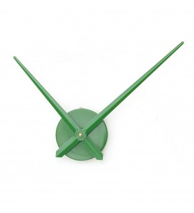 zegar ścienny 3D DIY XXL12S zielony