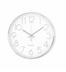 Zegar ścienny 3053 chrom