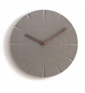 Nowoczesny zegar ścienny ECOBOARD zielony