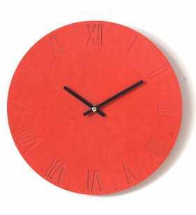 Nowoczesny zegar ścienny ECOBOARD RZYMSKI