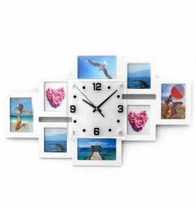 Ramki na zdjęcia z zegarem