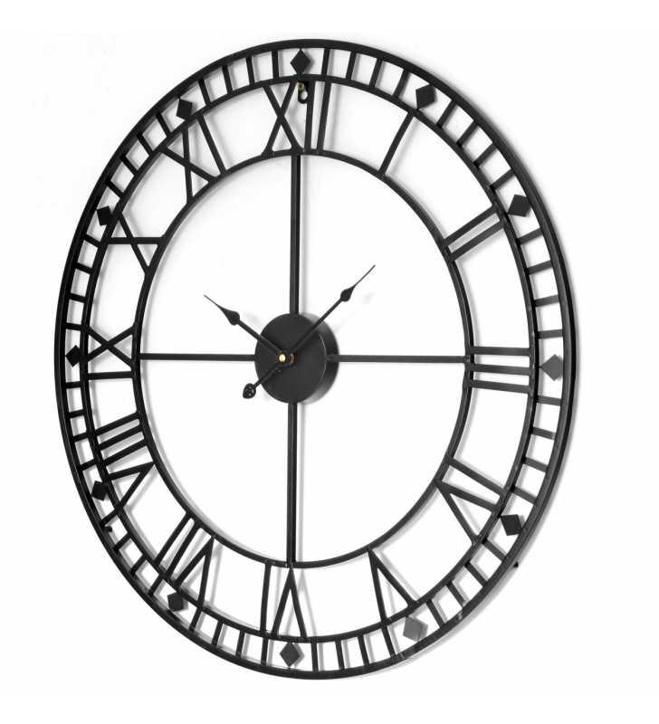 Zegar Loft duży czytelny