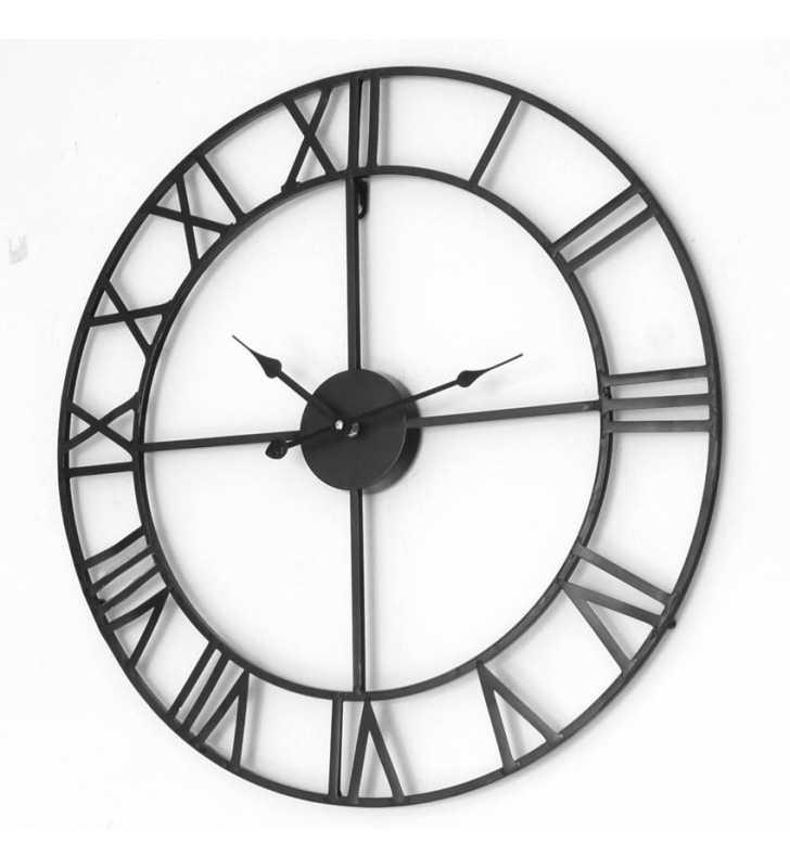 Zegar ścienny industrialny duży Loft