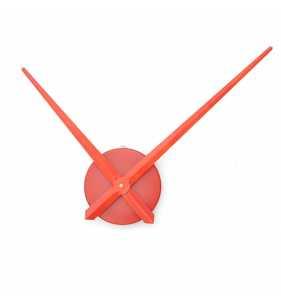 Duży zegar ścienny 3D DIY XXL12S czerwony