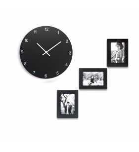 Nowoczesny zegar ścienny Happy Hour Frame