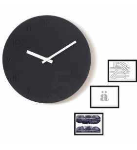 Nowoczesny zegar ścienny ramki na zdjęcia