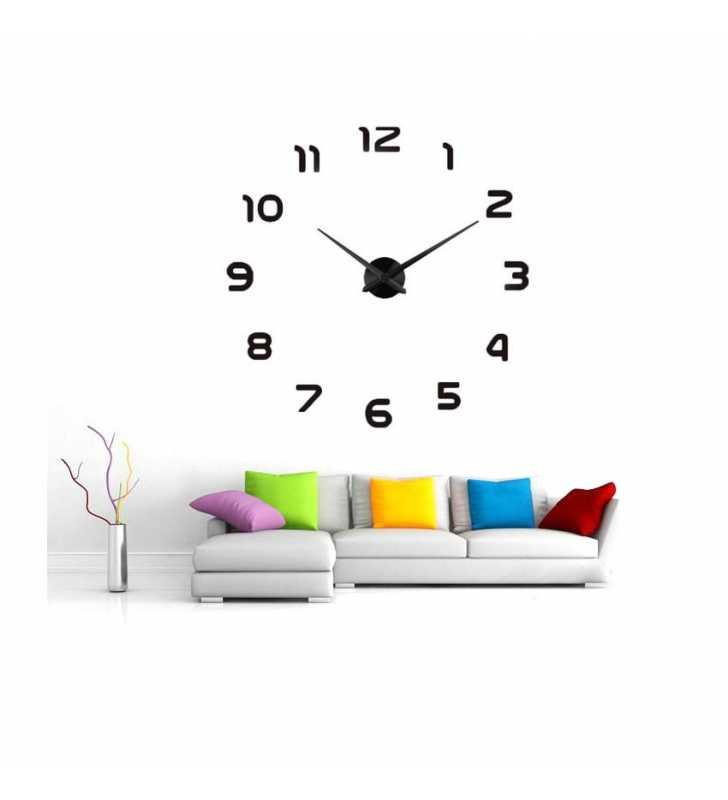 Nowoczesny zegar DIY 12S002