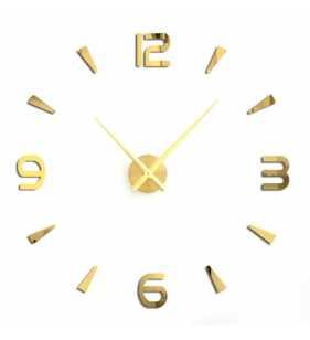 copy of Duży zegar ścienny 3D DIY lustro 70cm-130cm T4218
