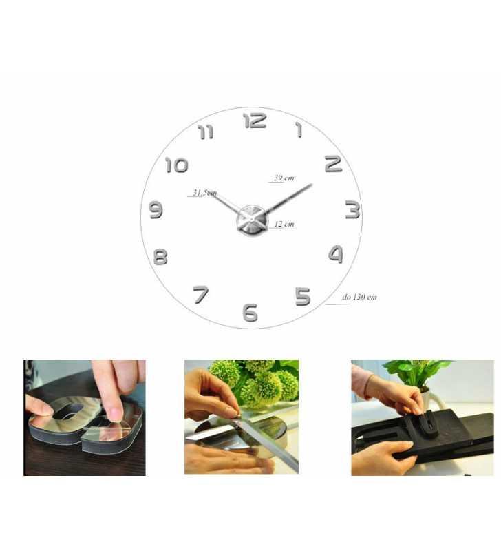 Wymiary zegara XXL