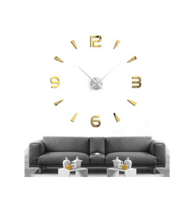 Zegar ścienny duży nowoczesny DIY  T4218